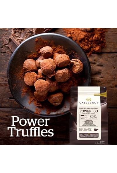 Callebaut Bitter Damla Güçlü 80 Çikolata (2.5 kg)