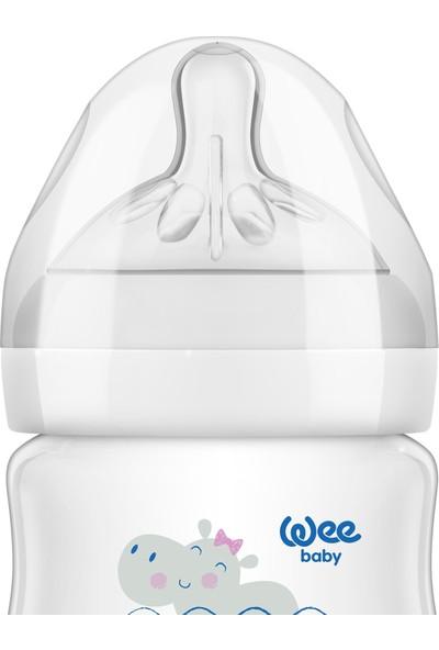 Wee Baby Natural PP Biberon 125 ml - ZÜRAFA