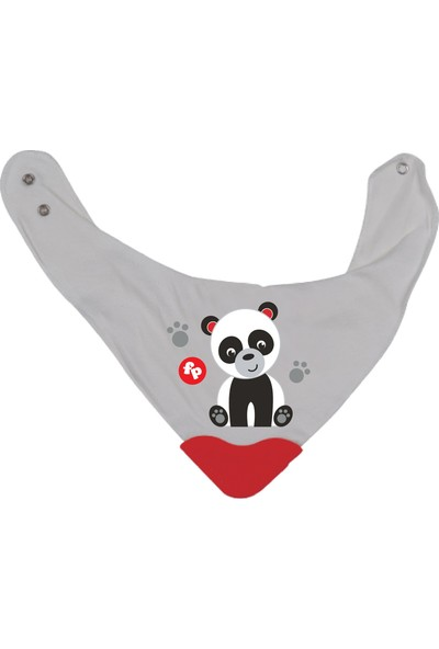Fisher-Price Panda Fular Diş Kaşımalı Önlük