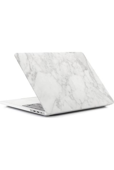 Macstorey Apple Macbook Pro Retina A1502 A1425 13 inç 13.3 inç Kılıf Kapak Koruyucu Mermer Kutulu 128