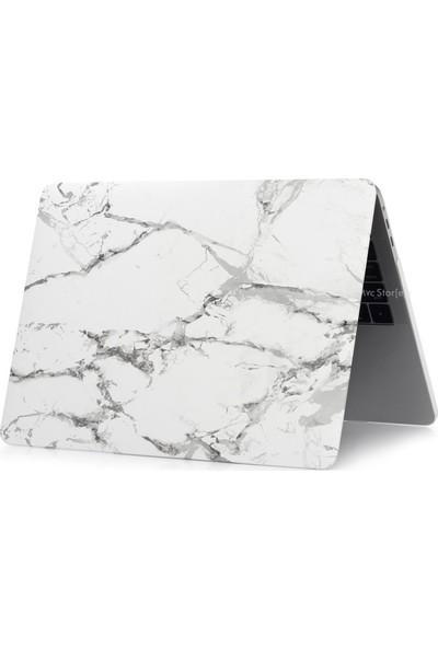 Macstorey Apple Macbook Air A1369 A1466 13 inç 13.3 inç Kılıf Kapak Koruyucu Mermer Kutulu 189