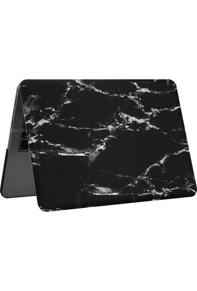 Macstorey Apple Macbook Air A1369 A1466 13 inç 13.3 inç Kılıf Kapak Koruyucu Mermer Kutulu 191
