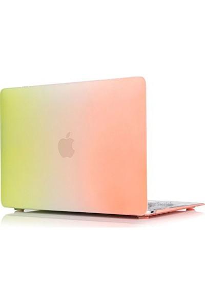 Macstorey Apple Macbook Pro Retina A1502 A1425 13 inç 13.3 inç Kılıf Kapak Koruyucu Rainbow Kutulu 143