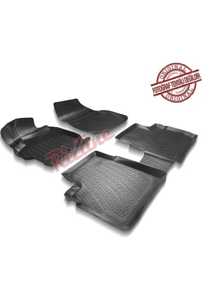 Rizline Volkswagen Passat B7 2011-2014 3D Havuzlu Paspas
