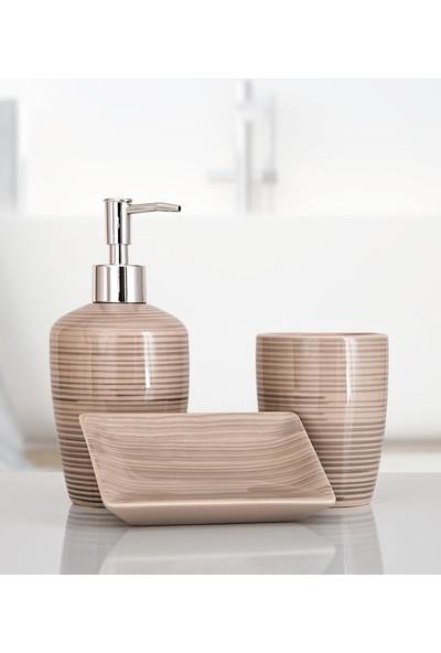 İrya Home More 3 Parça Banyo Seti Lovıta Gri