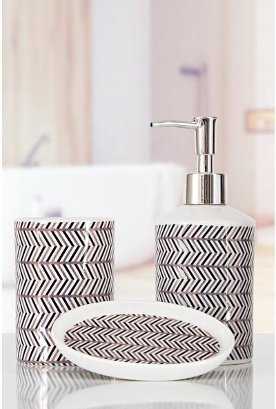 İrya Home More 3 Parça Banyo Seti Lıdya Gold