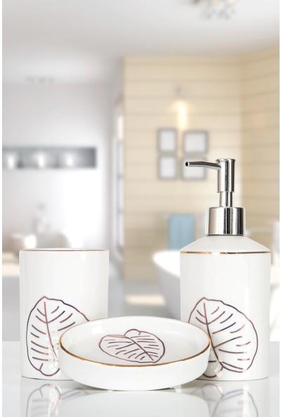 İrya Home More 3 Parça Banyo Seti Lara Beyaz