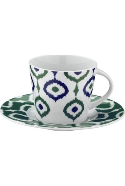 Kütahya Porselen 12 Parça 9133 Desen Çay Takımı