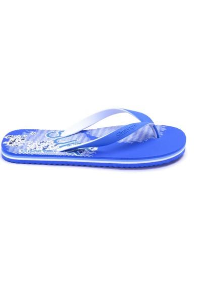 Slazenger Surf Erkek Terlik Mavi