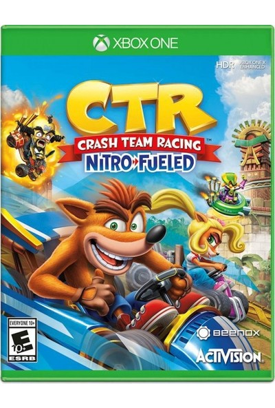 Xbox One Crash Team Racing Nitro Fueled