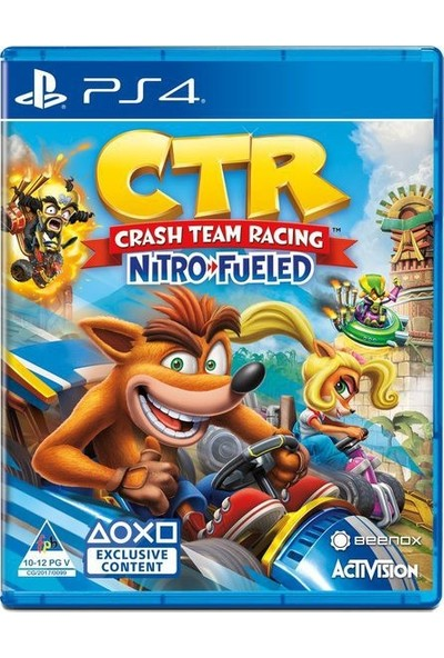 Crash Team Racing Nitro Fueled PS4 Oyun