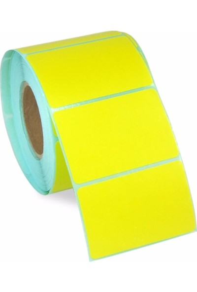 Fırsat Bilişim İlaç Tari̇f Eti̇keti̇ Sarı Renk 58 x 40 mm