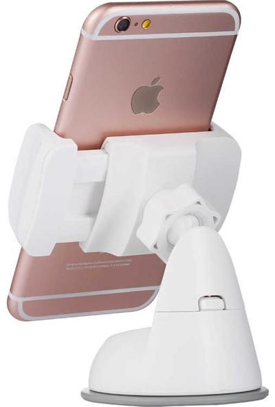 Benks Little Gaint Car Holder- Vakumlu Araç Telefon Tutucu -Beyaz