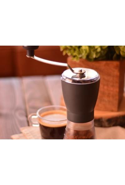 Bambum Taşev Grinde Kahve Öğütücü Siyah T0848