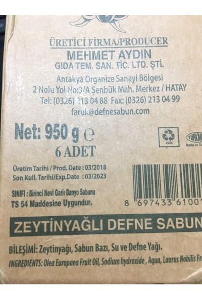 Mehmet Aydın Zeytinyağlı Defne Sabunu 950 gr