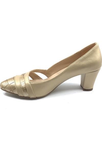 Daisy Bej Topuklu Günlük Kadın Ayakkabısı