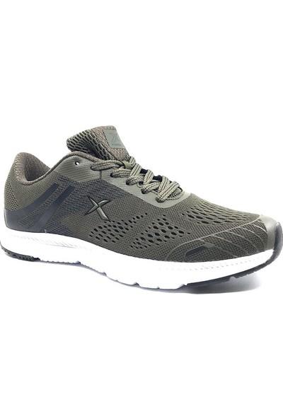 Kinetix 100354937 Gaıa Haki-Siyah Erkek Spor Ayakkabı