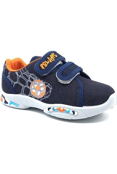 Polaris 511101 Laci Cırtlı Keten Erkek Spor Ayakkabı