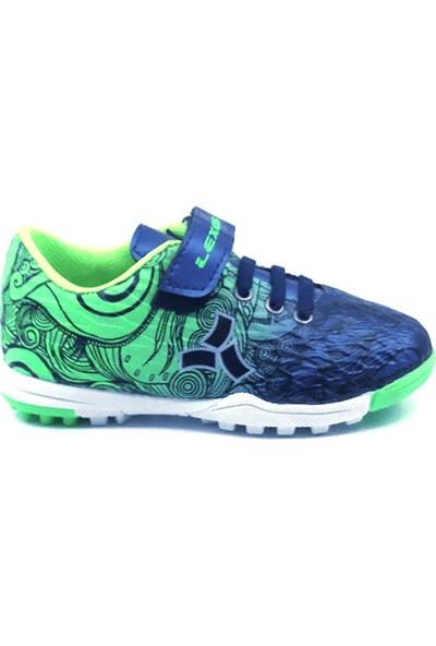 Lexos Patik Laci-Yeşil Erkek Çocuk Halısaha Ayakkabısı