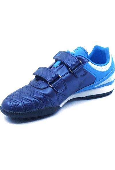 Dugana Everest Laci-Turkuaz Erkek Çocuk Halısaha Ayakkabısı
