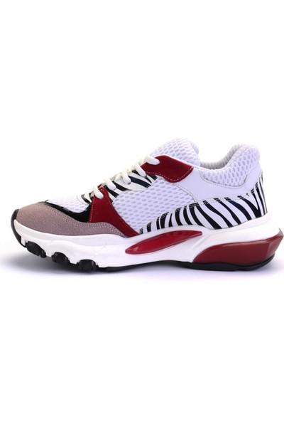 Mille Sandy Günlük Giyim Kadın Ayakkabı Kırmızı