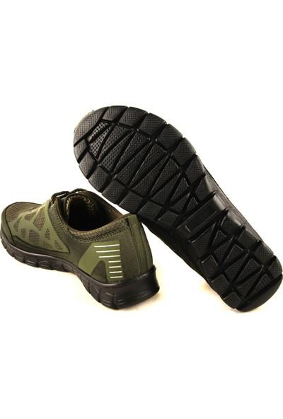 Forelli 61039 Haki Kadın Spor Ayakkabı