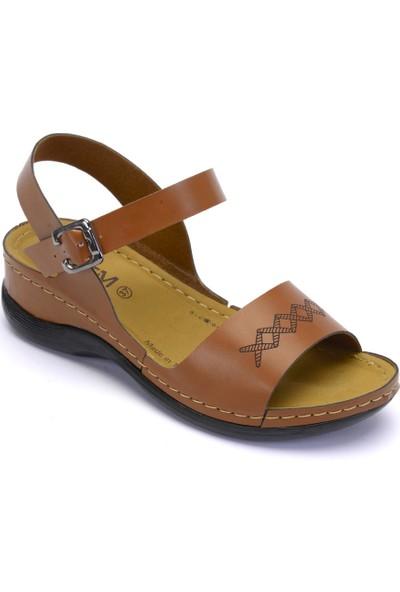 Esem Esm246.Z.010 Kadın Sandalet Camel