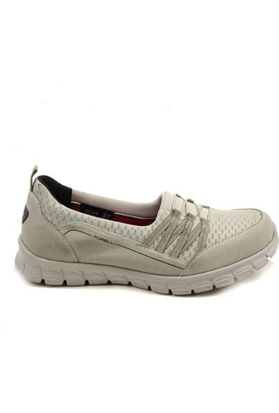 Forelli 61014 Kadın Gri Spor Ayakkabı