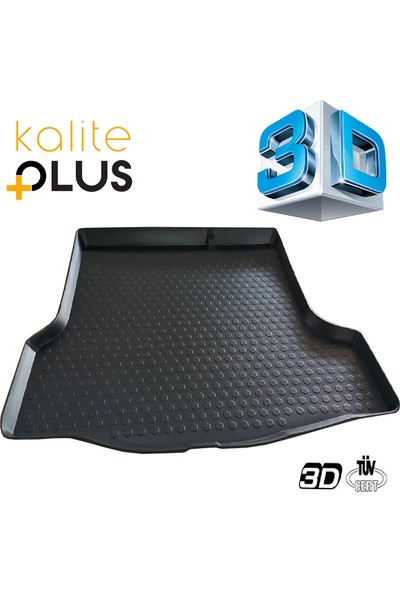 Kaliteplus Opel Crossland 3D Bagaj Havuzu