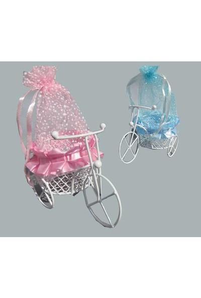 Kullan At Market Bisiklet Sepetli Keseli Mavi Pakette 10 Adet