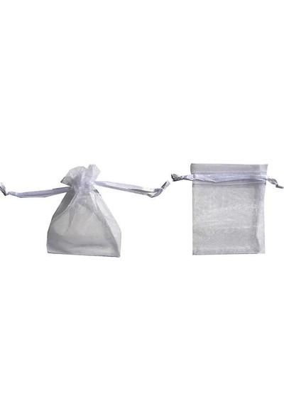 Kullan At Market Kese Taşsız Minik Boy Beyaz 7 x 9 cm Pakette 100 Adet