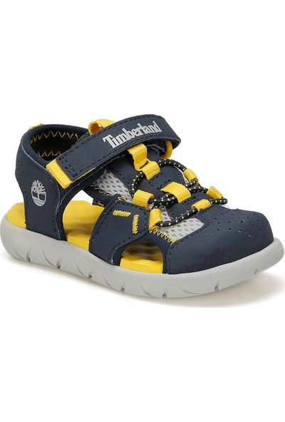 Timberland Perkıns Row Fısherman Lacivert Unisex Çocuk Sandalet