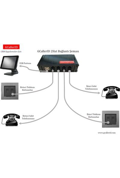 Gcallerid 2hat - Arayan Numarayı Gösteren Caller Id Cihazı