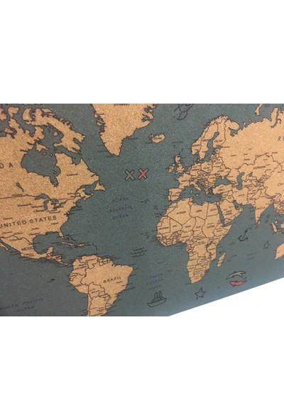 Mapofx Mantar Harita Mavi - Pinlenebilir Harita