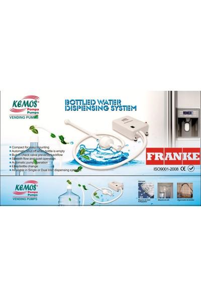 Kemos Franke Flojet Buzdolabı, Sebil ve Su Pompası (Bottled Water Dispensing System)