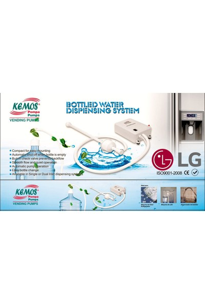 Kemos Lg Flojet Buzdolabı ve Sebil Pompası