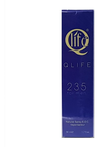 Qli̇fe 235 Erkek Parfüm 50 ml