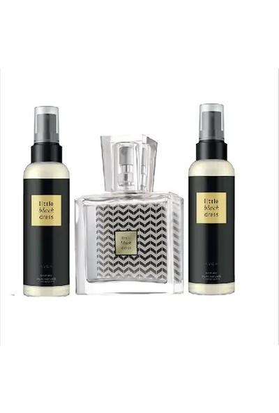 Avon Little Black Dress Edp 30 ml Bayan Parfüm + 2 Vücut Spreyi
