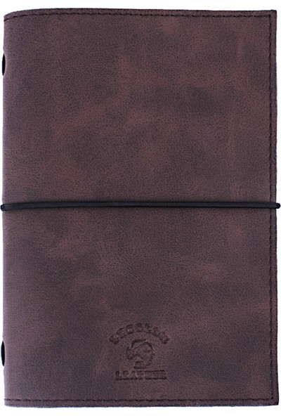 Le Color Handmade Leather Notebook Kahve