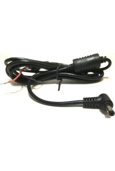 Electroon 4.0 x 1.35 mm Jak 1.5 mt Notebook Adaptör Kablo