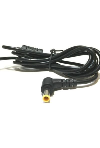 Electroon 5.5 x 3.0 mm Jak 1.5 mt Notebook Adaptör Kablo
