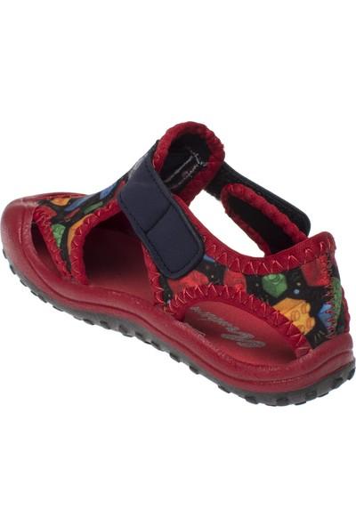 Newborn 5010 Deniz Bisi Kırmızı Unisex Deniz Ayakkabısı