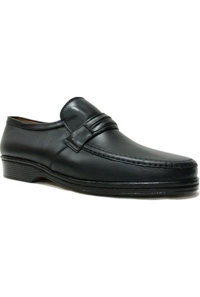 Shoepi Köseleci 4250 Siyah Bağcıksız Epa Comfort Erkek Ayakkabı