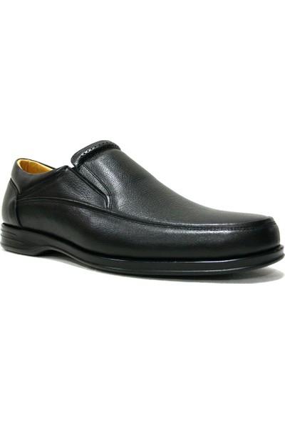 Slope 109628 Siyah Bağcıksız Comfort Erkek Ayakkabı