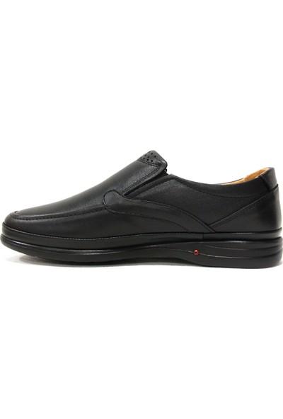 Slope 493506 Siyah Bağcıksız Comfort Erkek Ayakkabı