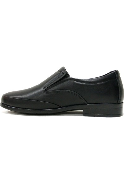 Slope 493780 Siyah Bağcıksız Comfort Erkek Ayakkabı
