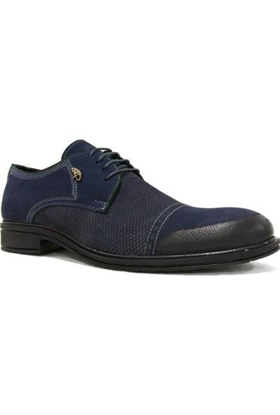 Dropland 3465 Lacivert Bağcıklı Casual Erkek Ayakkabı