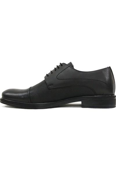 Dropland 5239 Siyah Bağcıklı Erkek Ayakkabı