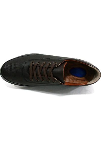 Dropland 5485 Kahverengi Bağcıklı Casual Erkek Ayakkabı