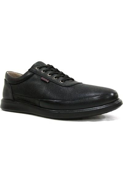 Dropland 5485 Siyah Bağcıklı Casual Erkek Ayakkabı